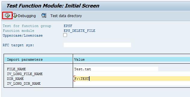 Upload, download and delete files in AL11 Transaction