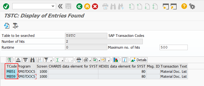 SAP How to find transaction by program name?